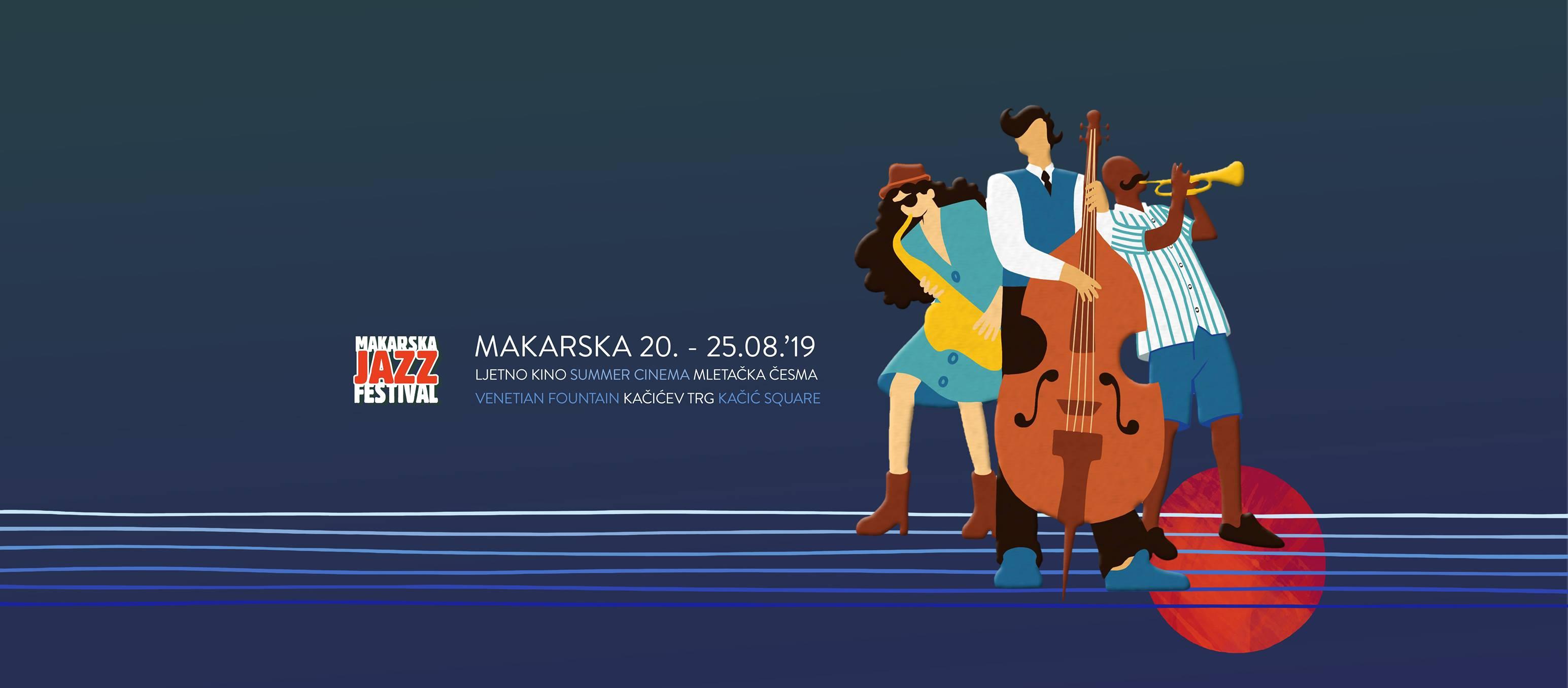 OD 20. DO 25.KOLOVOZA Makarska Jazz Festival šestu godinu za redom donosi vrhunski glazbeni doživljaj