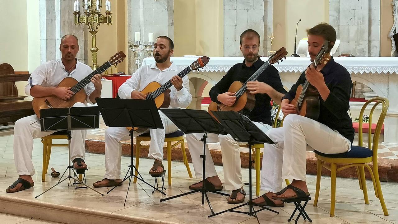 VIDEO / FOTO: Splitski gitaristički kvartet u katedrali sv.Marka