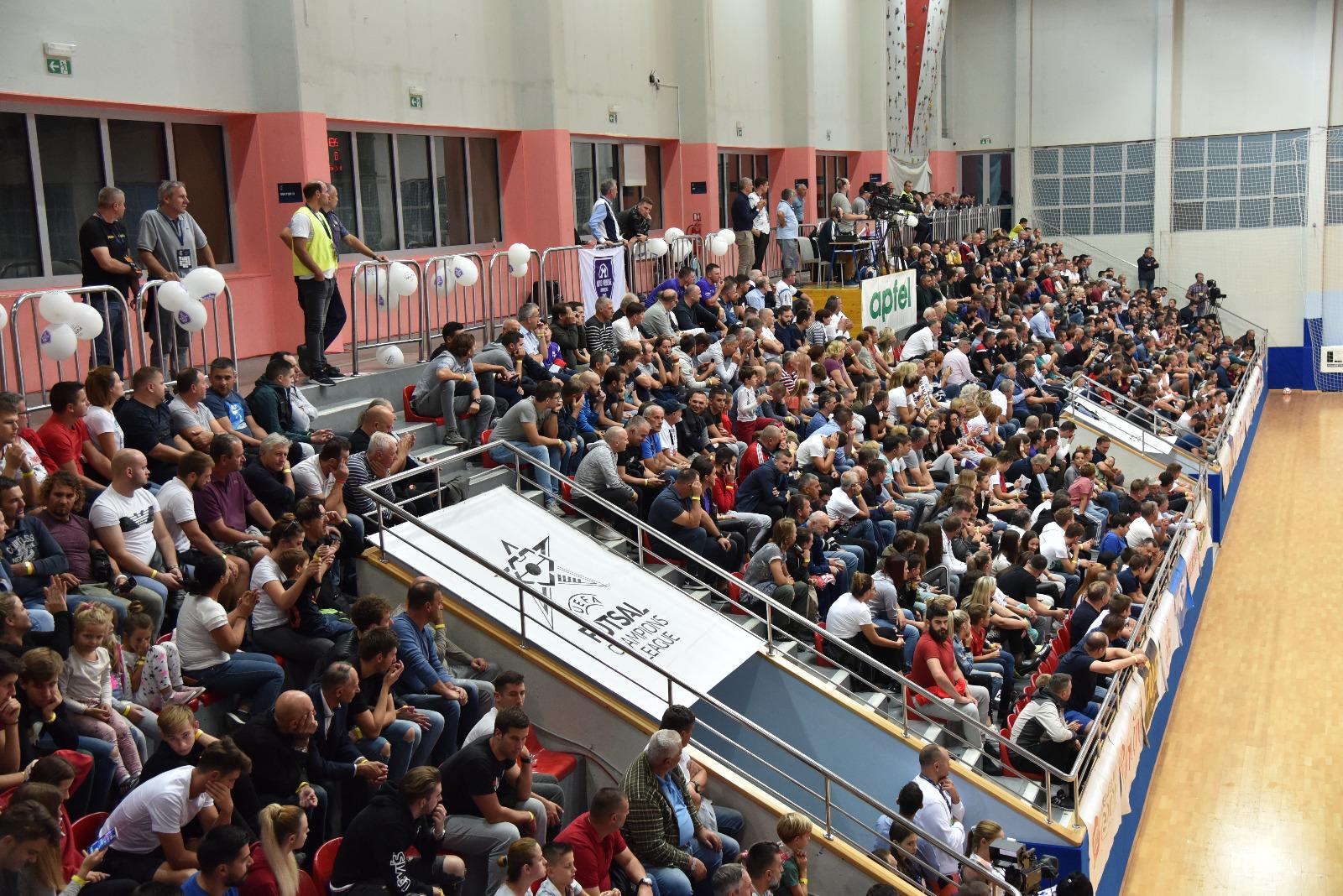 NOVO VRIJEME – SHKUPI 4:2 Makarani drugu godinu za redom u Elitnoj rundi futsal Lige prvaka