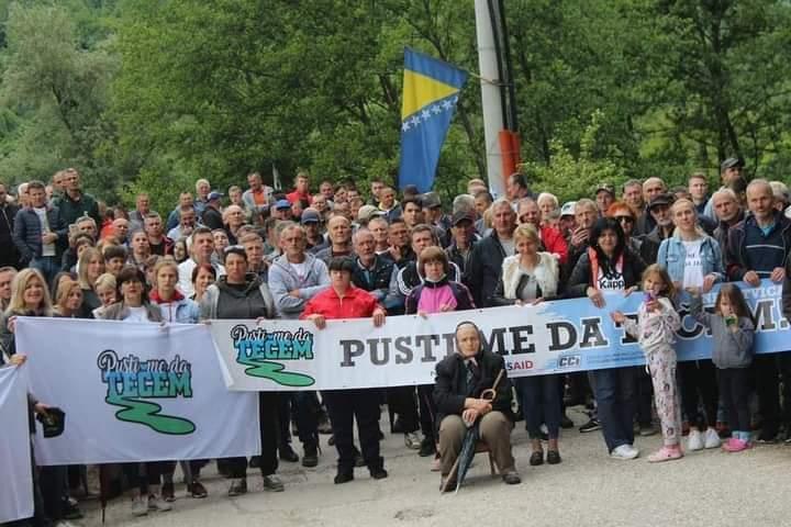 Mještani u BiH zaustavili izgradnju mini hidroelektrana