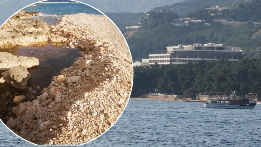 STATUS QUO Lučka kapetanija slala nalog za sanacijom plaže Romana, Zoran Paunović kaže da traže rješenje
